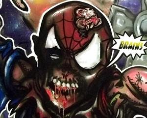 sPIder-Man ( Zombie Version )
