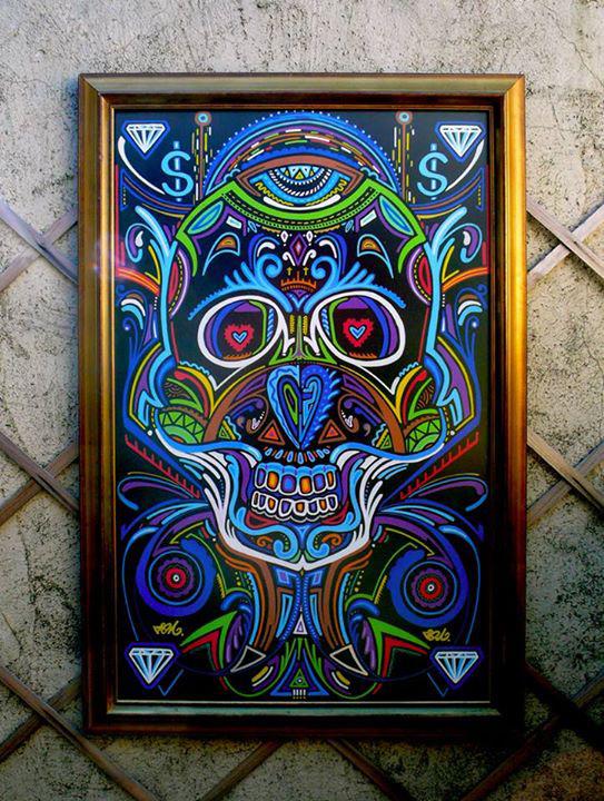 Vegas skull