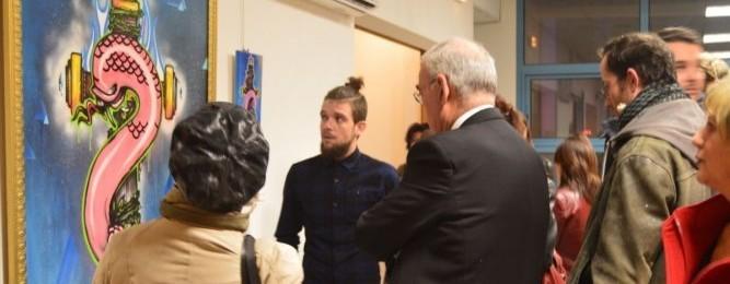 EXPOSITION à la mairie du Pouget / Décembre 2015