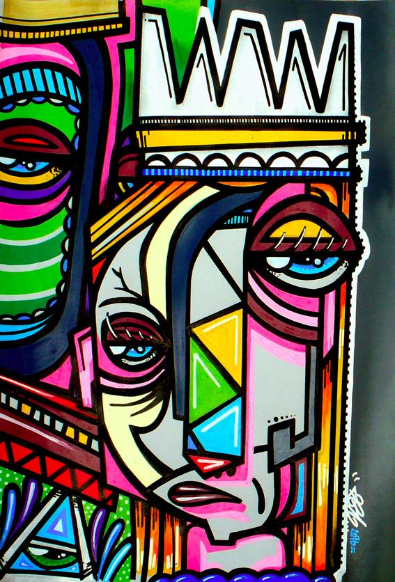 cubist queen